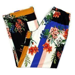 Melissa Paige Blossom Block Multicolor Pants